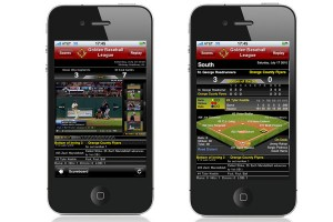 Live video highlights is integrated with Pointstreak Stats on your baseball mobile apps.