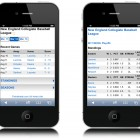 Baseball mobile app development