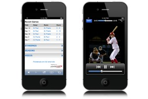 Baseball video highlights available on your phone.