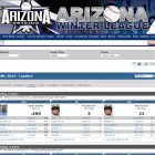 Your team stats seamlessly integrate with your baseball site.