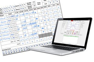 Easy-to-use basketball scoring software.
