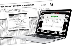 Easy-to-use hockey scoring software