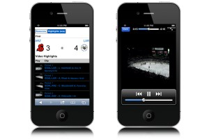 Hockey video highlights available on your phone.