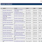 Import lacrosse league schedules from Excel.