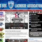 Your lacrosse website professionally designed.