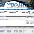 Your lacrosse team online registration seamlessly integrates with your Pointstreak Sites.
