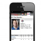 Player stats on your soccer mobile apps.